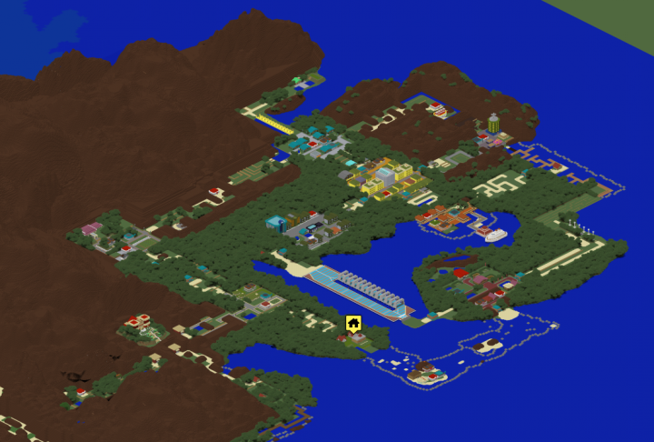 Overview of entire Kanto map