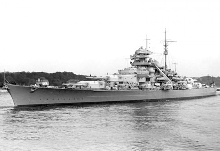 Referance Picture of KMS Bismarck