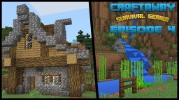 Craftaway Episode 4 : Landscaping and Advanced Starter House Tutorial Minecraft Map & Project