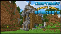 Craftaway Episode 5 :Adding a Church (SURVIVAL) Minecraft Map & Project