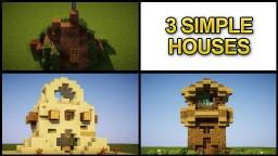 Minecraft : Quick and Easy House Tutorials Minecraft Map & Project