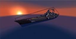 DKM Bismarck German Battleship Minecraft Map & Project
