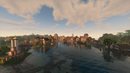 Town of Riverside Minecraft Map & Project