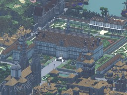 New Gothic Palace (rendering) Minecraft Map & Project