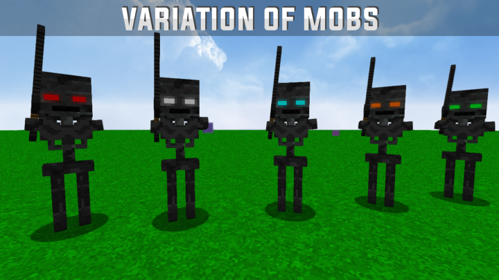 Many Wither Skeletons