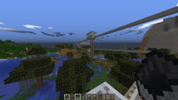 MultiLane Transit System Minecraft Map & Project