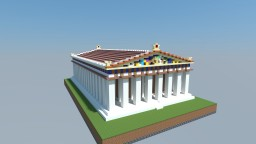 The Parthenon Minecraft