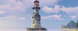 Modern Lighthouse for Dream Valley Minecraft Map & Project