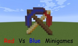 Red Vs. Blue Minigames v1.0 Minecraft Map & Project