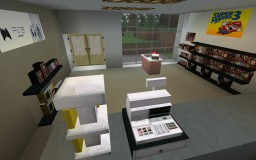 Retro Games Shop Minecraft Map & Project