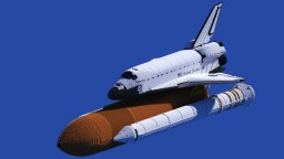 Space Shuttle Discovery - scale 11:1 Minecraft