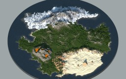 The World for Survival [Download] 3000x3000 - WorldPainter V2 Minecraft