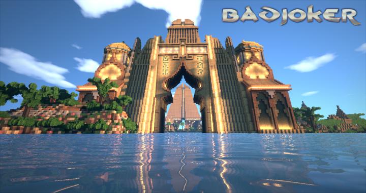A view through Gate of Dominion