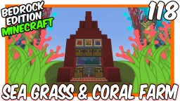 Sea Grass & Coral Farm Minecraft Map & Project