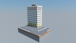 Nippy's Early 1900's Terracotta Facade High-Rise (Facade Only) Minecraft Map & Project