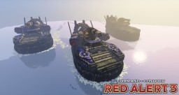 Riptide ACV | C&C Red Alert 3 [⬇] Minecraft Map & Project