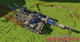MBT-X8 Guardian tank | C&C Red Alert 3 [⬇] Minecraft Map & Project