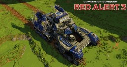 Mirage tank | C&C Red Alert 3 [⬇] Minecraft Map & Project