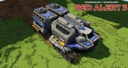 Allied MCV | C&C Red Alert 3 [⬇] Minecraft Map & Project