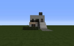 Small Modern Studio House Minecraft Map & Project