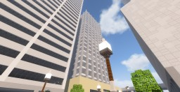 Portland project - PME (Portland Marketing Exchange) Building - late 90s office Minecraft