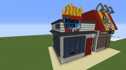 Steven Universe Beach CityWalk Fries Minecraft Map & Project