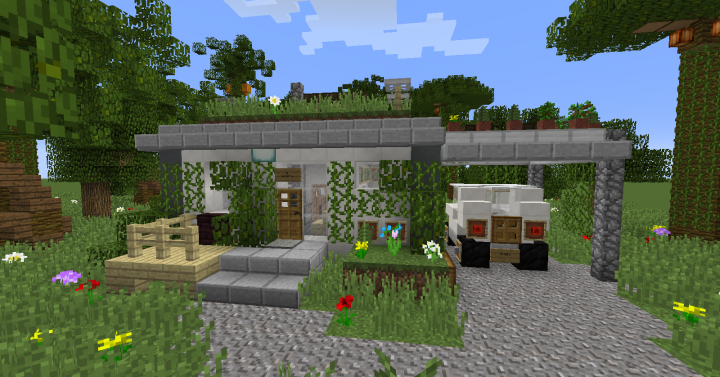 Sustainable Tiny House Minecraft Map