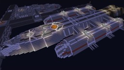 Battlestar Prometheus Minecraft Map & Project