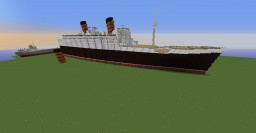 PANIC POST RMS QUEEN MARY Minecraft Map & Project