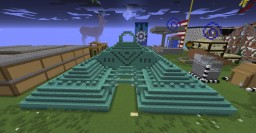 Gutted/Hollow Ocean Monument Minecraft Map & Project