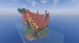 Medieval town house complex Minecraft Map & Project