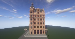 Victorian Corner Building Minecraft Map & Project