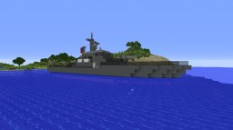 US Navy Boat Minecraft Map & Project