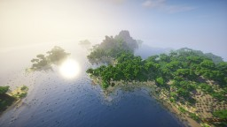 """Little Paradisiac Island"" By ClemsDX - WorldPainter Minecraft Map & Project"