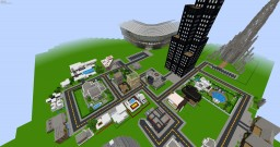 minecraft city (update) Minecraft Map & Project