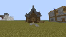 custom mediaval village house Minecraft Map & Project