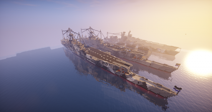 Two Jaunt class carriers docked at Hurion Naval Base