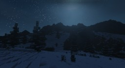 Some Snowy Mountains i guess... Minecraft Map & Project