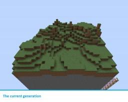 Costum command block terrain generator Minecraft Map & Project