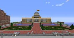 Palais de La Fontaine - Presidential Palace of the Republic of Epsilon Minecraft Map & Project