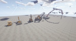 Just Some Cool Construction Vehicles =) Minecraft Map & Project