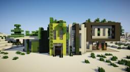 Modern Winter House by ItsZel Minecraft Map & Project