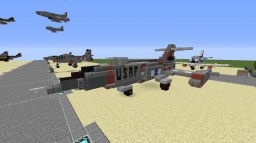 "F-104 ""Starfighter"" (American and German) Minecraft"