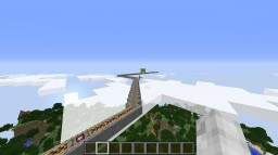 Crazy Redstone RollerCoaster Minecraft Map & Project