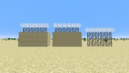 Desert Military Base Decorations Minecraft Map & Project