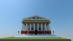 AC Origins Concept Art Temple Minecraft