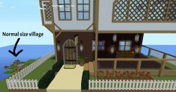 Giant house event: Parkour and building contest Minecraft Map & Project
