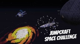 Jumpcraft in Space 9+ Levels Minecraft Map & Project