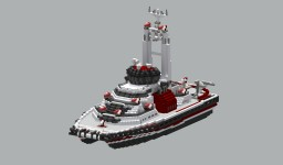 fire rescue ship DRA-7001 Minecraft