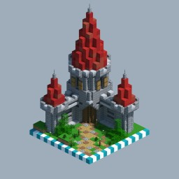Medieval Castle [CHUNK HOUSE] Minecraft Map & Project
